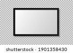 photo frame black border... | Shutterstock .eps vector #1901358430