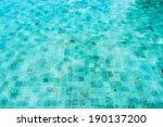 pool water | Shutterstock . vector #190137200