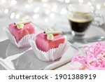 Valentine Petit Fours With...