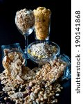 corn flakes and granola  in... | Shutterstock . vector #190141868