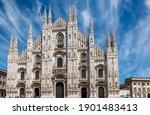 A Shot Of The Duomo Di Milano...