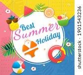 shopping online vector banner...   Shutterstock .eps vector #1901543236