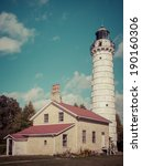Lighthouse Tower At Cana Island ...