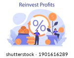 profit reinvestment concept....   Shutterstock .eps vector #1901616289