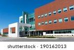 modern medical center building... | Shutterstock . vector #190162013