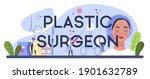 plastic surgeon typographic...   Shutterstock .eps vector #1901632789