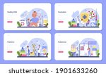 pediatrician web banner or... | Shutterstock .eps vector #1901633260