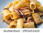 Plate Of Delicious Pasta Alla...