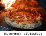 Neapolitan Pepperoni Pizza In...