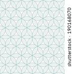 vector seamless pattern. modern ...   Shutterstock .eps vector #190168070