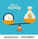money design over blue...   Shutterstock .eps vector #190168853