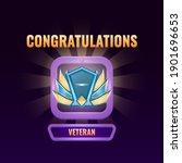 game ui ranked up to veteran...
