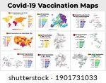 covid 19 vaccine infographic.... | Shutterstock .eps vector #1901731033