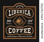 a vintage coffee label  this... | Shutterstock .eps vector #1901733703