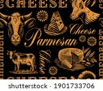 a vintage seamless background... | Shutterstock .eps vector #1901733706
