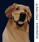 polygonal illustration of a...   Shutterstock .eps vector #1901739679