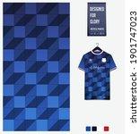 fabric pattern design.... | Shutterstock .eps vector #1901747023