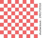 Red And White Lattice Vector...