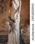 Bride In A Beautiful Wedding...