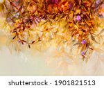 abstract oil painting of... | Shutterstock . vector #1901821513