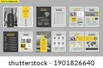 brochure creative design.... | Shutterstock .eps vector #1901826640