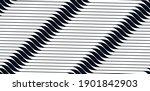 geometric wavy lines seamless... | Shutterstock .eps vector #1901842903