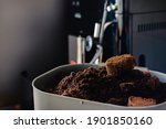 Used Coffee Grounds From...