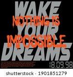 urban street style slogan print ... | Shutterstock .eps vector #1901851279