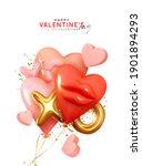 valentine's day background.... | Shutterstock .eps vector #1901894293