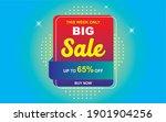 sale banner template design...   Shutterstock .eps vector #1901904256