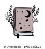 magic book on astrology  magic... | Shutterstock .eps vector #1901936623