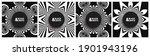 black and white design.... | Shutterstock .eps vector #1901943196