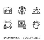 business icons include... | Shutterstock .eps vector #1901946013