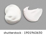 cream texture. cosmetic cream... | Shutterstock .eps vector #1901963650