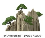 mountain vector isolated... | Shutterstock .eps vector #1901971003