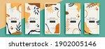 trendy editable template for... | Shutterstock .eps vector #1902005146