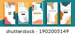 trendy editable template for... | Shutterstock .eps vector #1902005149