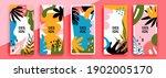 trendy editable template for... | Shutterstock .eps vector #1902005170