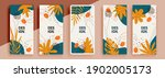 trendy editable template for... | Shutterstock .eps vector #1902005173