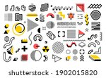 abstract geometric shapes.... | Shutterstock .eps vector #1902015820