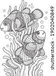 Sea Life Coloring Page...