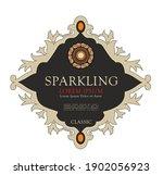wine label italian food and... | Shutterstock .eps vector #1902056923