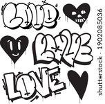 Graffiti Lettering Love And...