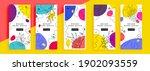 trendy editable template for... | Shutterstock .eps vector #1902093559