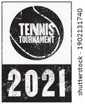 tennis tournament 2021...   Shutterstock .eps vector #1902131740