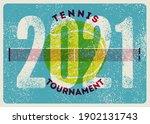 tennis tournament 2021...   Shutterstock .eps vector #1902131743
