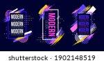 vector frame for text modern... | Shutterstock .eps vector #1902148519