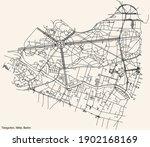 black simple detailed street...   Shutterstock .eps vector #1902168169