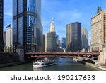 The Chicago River Serves As The ...