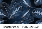luxury  seamless floral pattern ... | Shutterstock .eps vector #1902229360